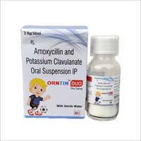 Amocycillin And Potassium Clavulanate Oral Suspension IP