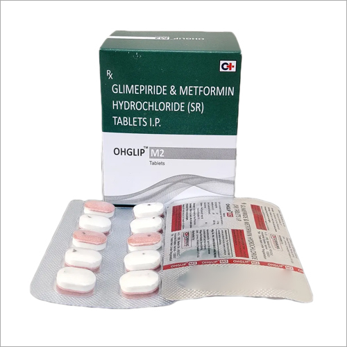 Glimepiride And Metformin Hydrochloride (SR) Tablets IP