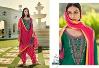 Shangar by Patiala House Vol - 18 Jam Silk with Embroidery Work