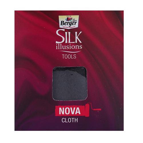 Berger Paints Silk Illusion Tool Nova Cloth for Wall Texture Designs