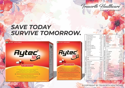 Truworth Rytec 12g (Multi Vitamin Capsule)