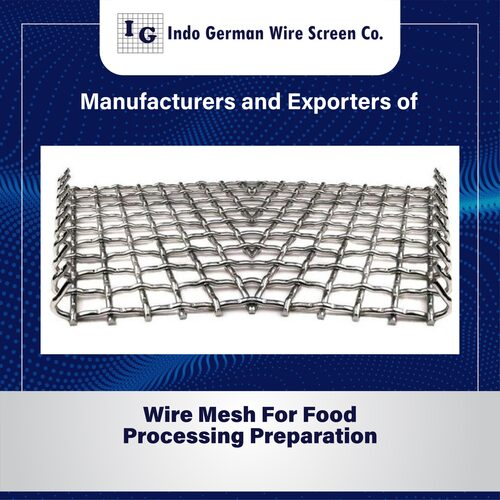 Wire Mesh For Food Processing and Preparation