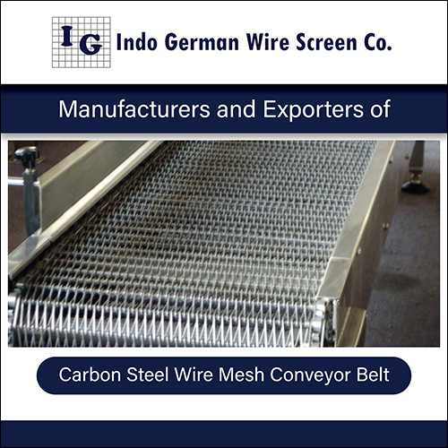 Carbon Steel Wire Mesh Conveyor Belt