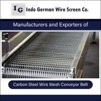 Carbon Steel Wire Mesh Conveyor Belt
