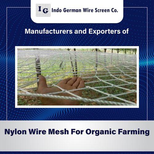 Nylon Wire Mesh For Organic Farming