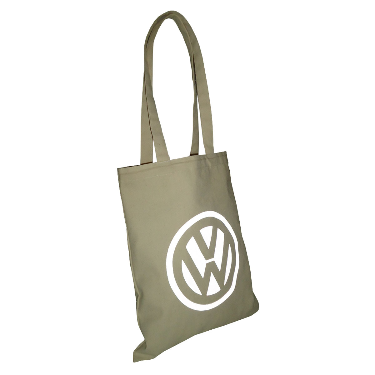 10 Oz Natural Canvas Tote Bag With Reflective Ink Print Logo