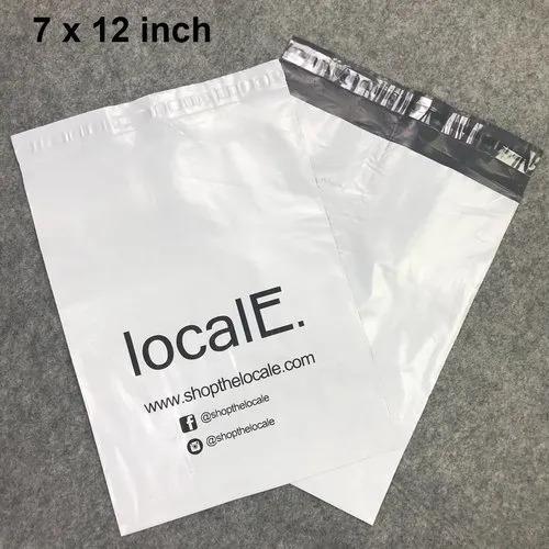 Black & White Printed Courier Bag