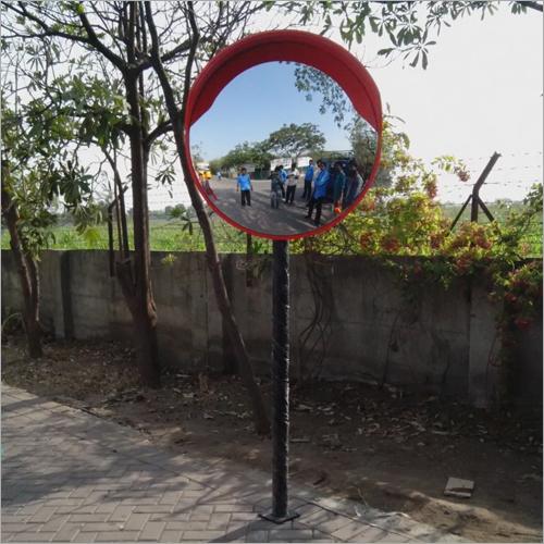 Convex Mirror Pole Mounted