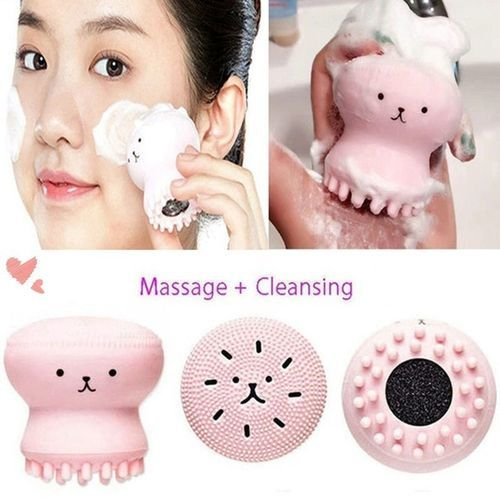 Soft Silicone Facial Cleansing Scrubber