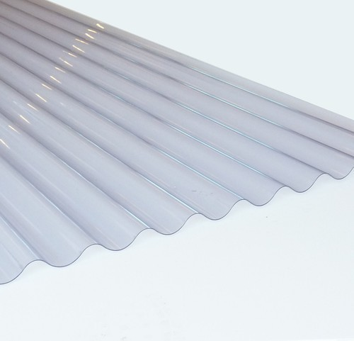 PVC White Transparent Roofing Sheets