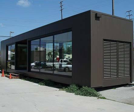 Modular Furnished Office Container
