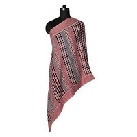 Fine Wool Screen Printed Stole - 1
