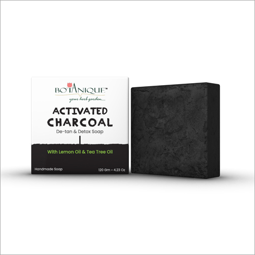 De-Tan Detox Activated Charcoal Soap