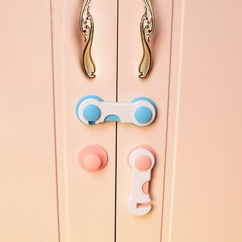 Door Drawer Cabinet Safety Lock