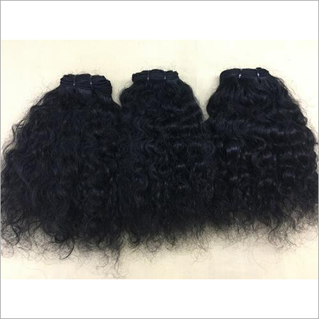 Deep Curly Machine Weft Hairs