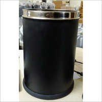Black Powder Coated SS Bin
