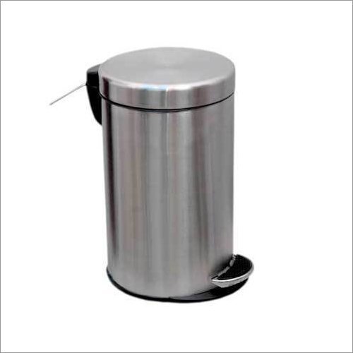 SS Pedal Bin Deluxe With Dome Lid