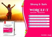 Truworth Worcef T (Piperacillin & Tazobactam Injection )