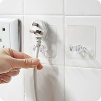 5 Pcs Adhesive Plug Socket Holder