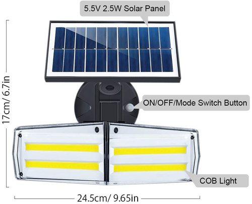 Solar Garden Security Light