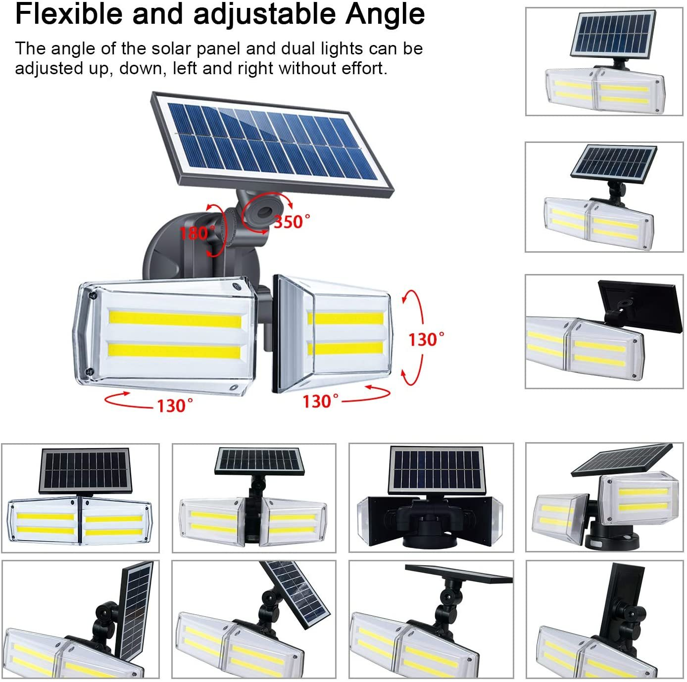 Solar Garden Security Light