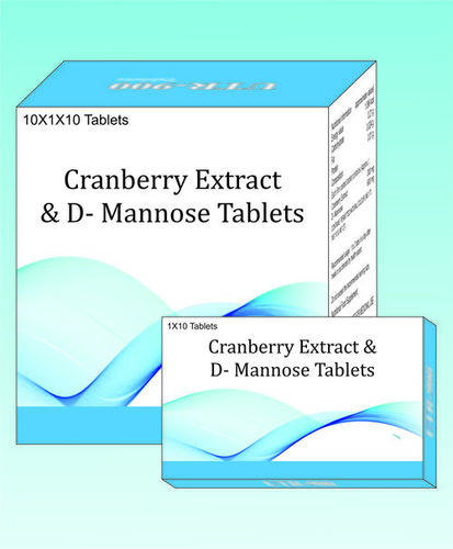 Cranberry extract & D mannose Tablets