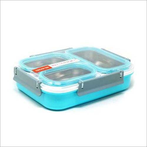 Three Storage Stainless Steel Lunch Box