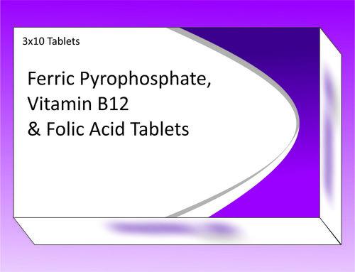 Ferric pyrophosphate tablets