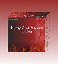 Horny Goat & Maca tablets
