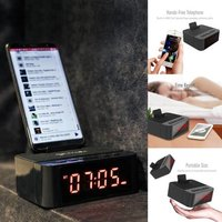 Clocky Bluetooth Speaker with Mobile Holder