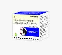 Nimesulide, Paracetamol and Serratiopeptidase bolus