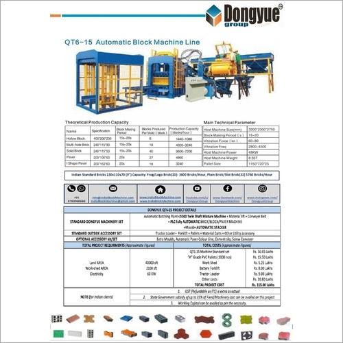QT6-15 Automatic Brick Machines