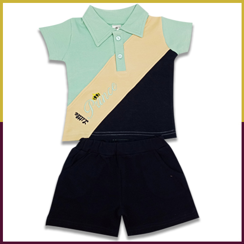 Sumix SKW 0148 Baby Boys T-shirts and Shorts