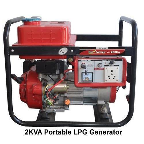 2 kVA Portable LPG Generator