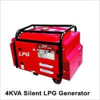 4 kVA Silent LPG Generator
