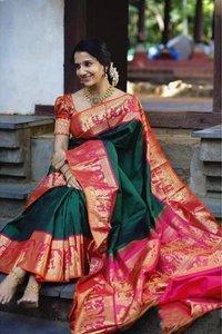 BORDER PATTERN SAREE