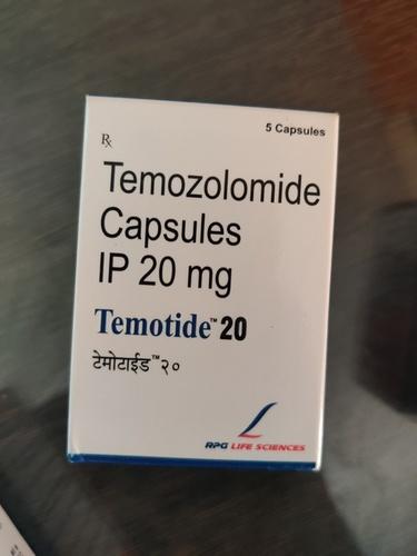 Temotide 20 -  Temozolamide Capsules