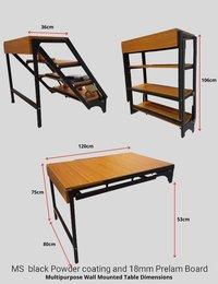 Multi Purpose Wall Mounted Folding Table