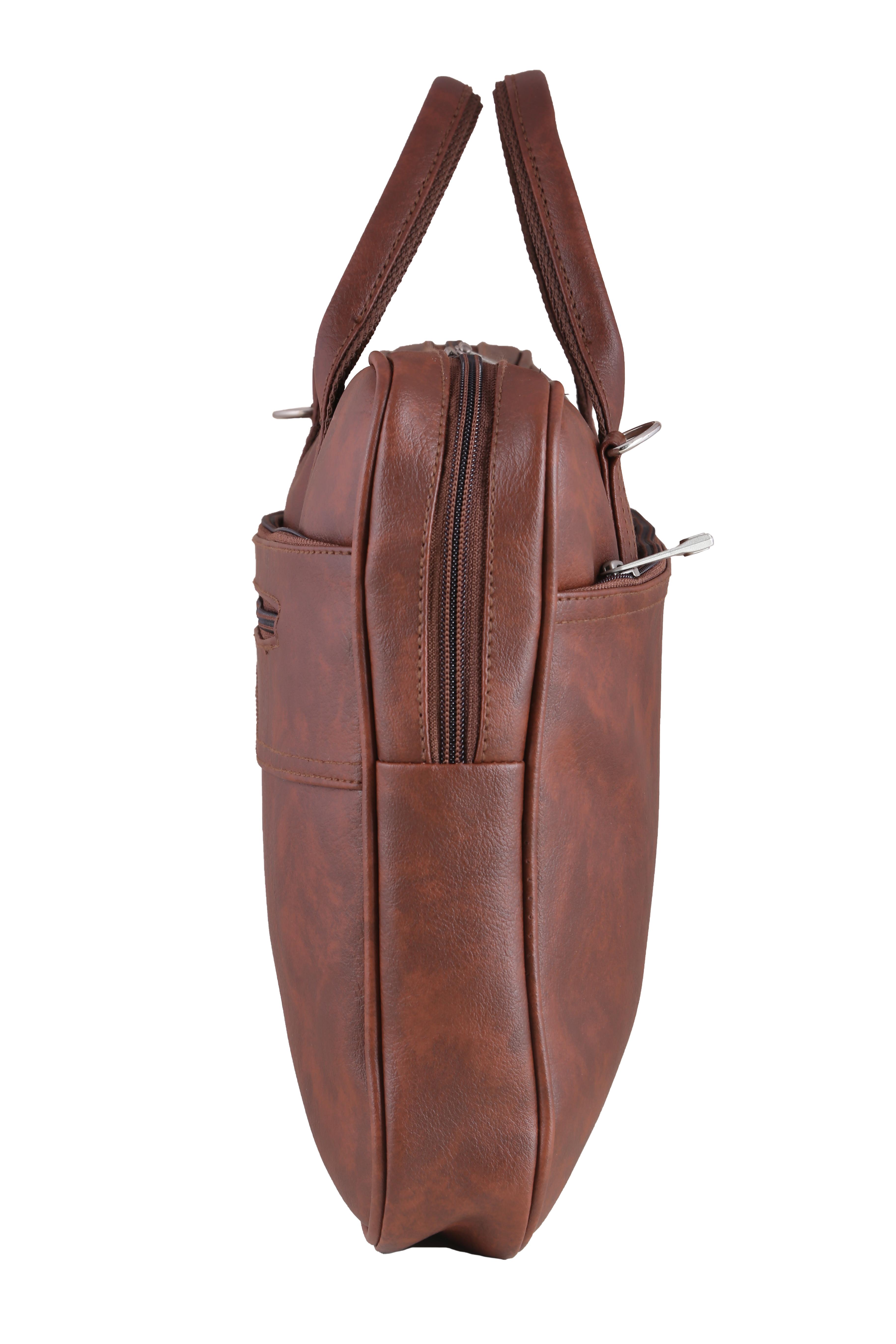 Leatherette Laptop Bag