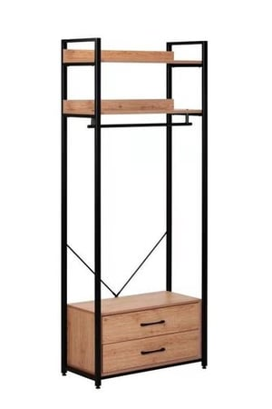 Square Stainless Coat Rack Inoxidable Steel Hallstand