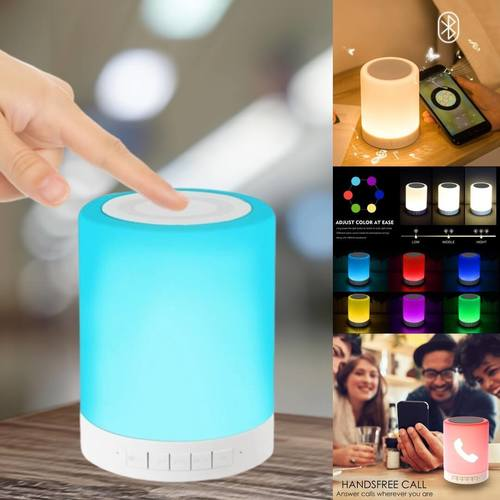 LED Bluetooth Touch Lamp Speaker