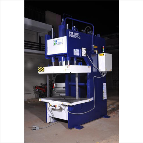Mild Steel C Frame Hydraulic Press Machine