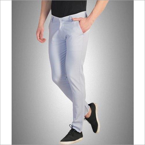 Mens Plain Cotton Trousers