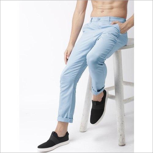 Mens Plain Cotton Jeans