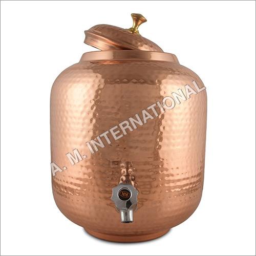 Copper Water Dispenser (Matka)