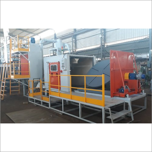 Tyre Mold Cleaning Blasting Machine