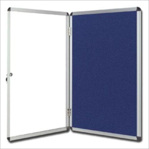 Notice Board with Door