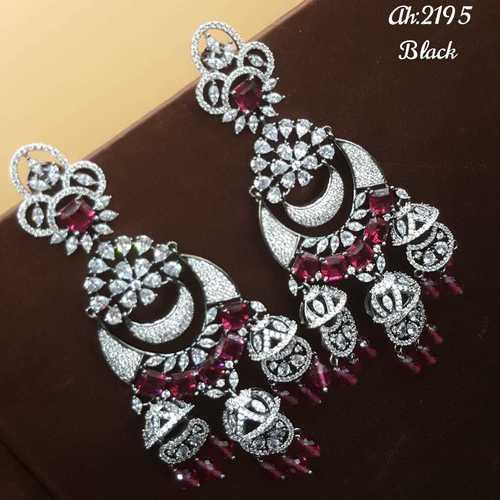 American Diamond Ad Earrings