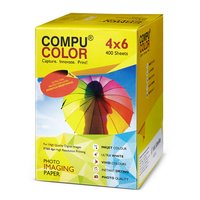 COMPU COLOR Photo Imaging Paper Glossy 270 gsm (4x6 inches) 400 sheets