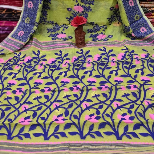 Ladies Banarshi Jamdani Saree